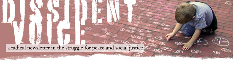 Dissident Voice: a radical newsletter in the struggle for peace and social justice