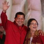 President Hugo Chávez announces María León as first minister of the new Ministry of Women's Affairs.