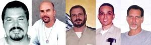 The Cuban 5: Ramon, Gerardo, Fernando, Antonio, and Rene