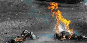 Palestinians incinerated to death by Israeli White Phosphorous bombs