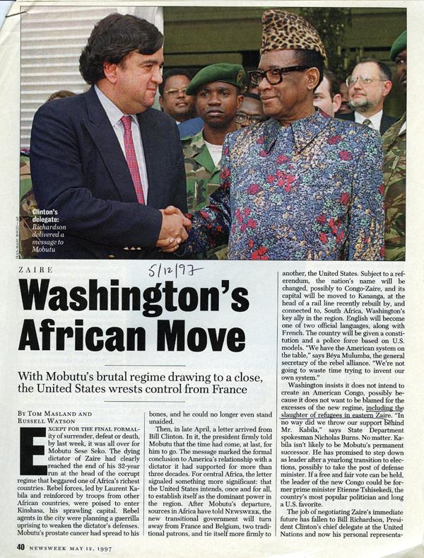 US Invasion Zaire LR