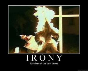 kkk-irony