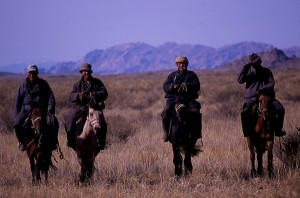 Herder nomads in west central Mongolia. Photo c. keith harmon snow, 2008.