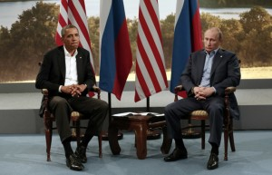 U.S. President Barack Obama and Russian President Vladimir Putin (Reuters)