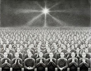 Delusion Dwellers, Laurie Lipton, 2010.