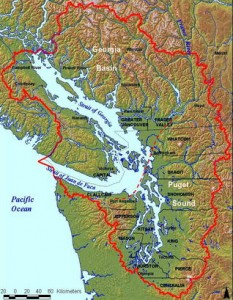 Salish Sea, Coast Salish Territory