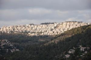 Har Nof from Yad Vashem