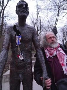 MilanKohout at anti-Communist monument