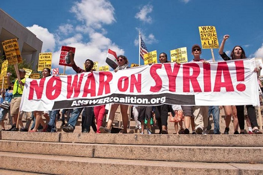 No War in Syria