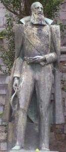 Belgian pride? Statue of Leopold II in Mons, Belgium