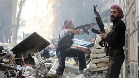 Foreign-backed militants in Syria (File photo)