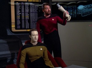 "In TNG's ""The Measure of a Man,"" android rights are on trial: is Data sentient?"