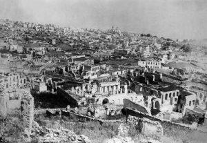 Shushi Karabakh after the 1920 massacre