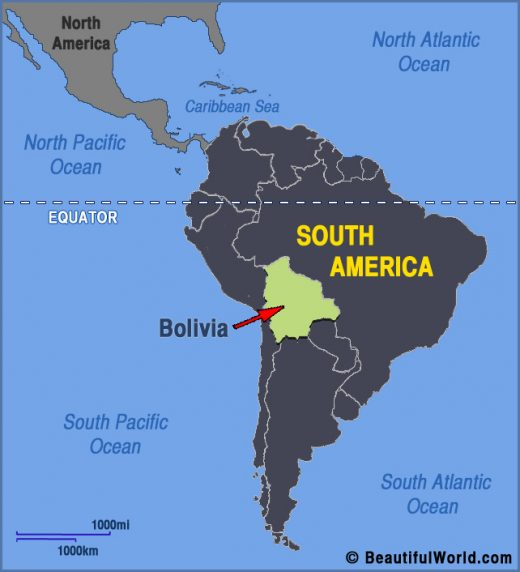 bolivia-south-america-map