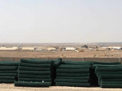 Work being done onAl-Azraq air base