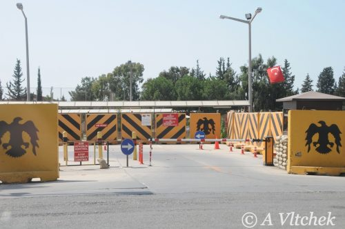 Entrance to Incirlik base