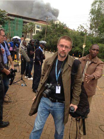 In Kenya during Al Shabaab standoff e1600913264833 - Mencurigakan! Jurnalis Pembuat Dokumenter Tentang G30S/PKI Ditemukan Tewas Di Turki